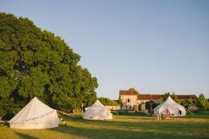 Wedding at Quirky Camping
