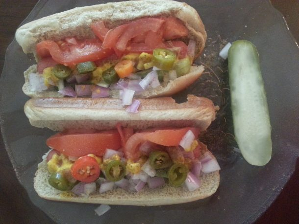 Chicago Style Hot Dogs Weight Watchers Points Plus