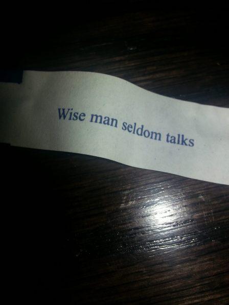 Fortune Cookies Lie