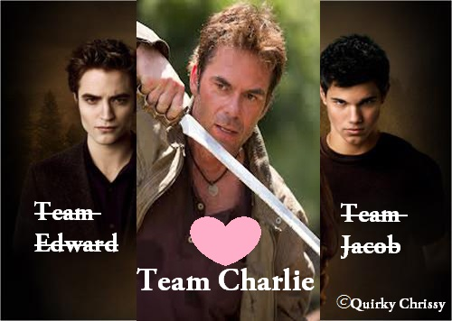 Team Edward, Team Jacob, Team Charlie Twilight