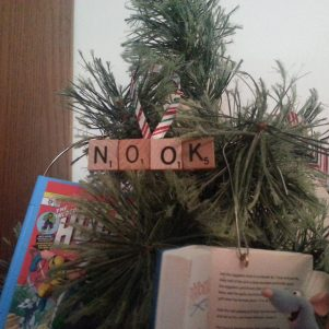 Nook Scrabble Ornament