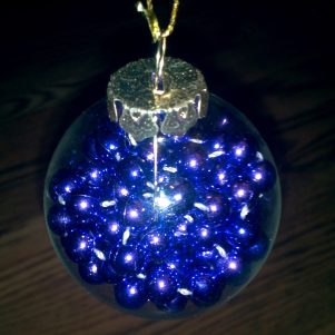 Purple Beads Ornament