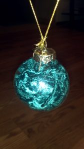 Poison Ivy costume ornament