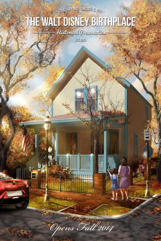 The Walt Disney Birthplace