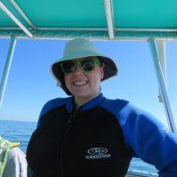 Do I look like a dolphin trainer? Because I felt like one!