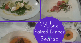 Wine-Paired Dinner at Seared Petaluma