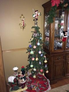 Disney Advent Tree
