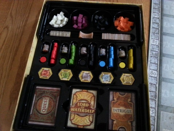 Lords of Waterdeep organized box