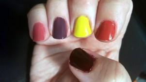 Julep nails base color for Sally Skellington Nails