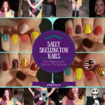 The Nightmare Before Christmas Sally Skellington Nails
