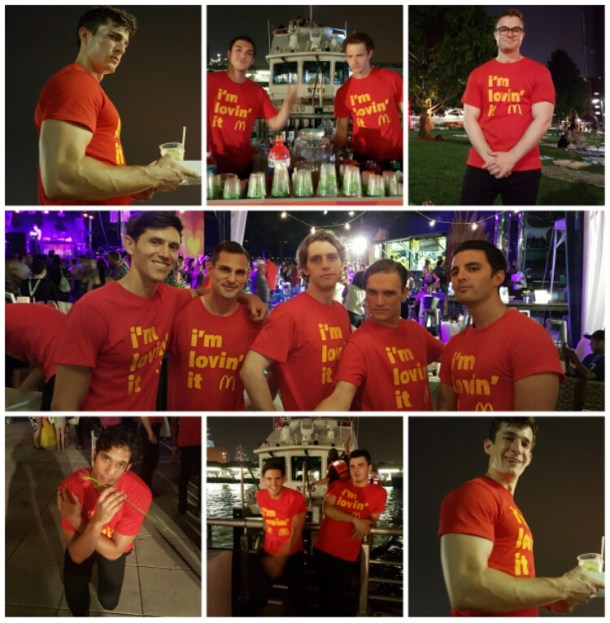 The Men of McDonald's at the BlogHer15 Closing Party really knew how to show us girls a good time.