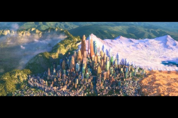 Zootopia is beautiful