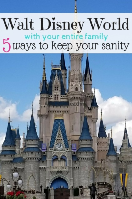 5 tips keep your sanity on a family trip to Disney World