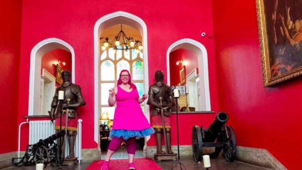 Princess for a day in Kinnitty Castle