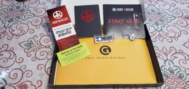 Hunt a Killer subscription box