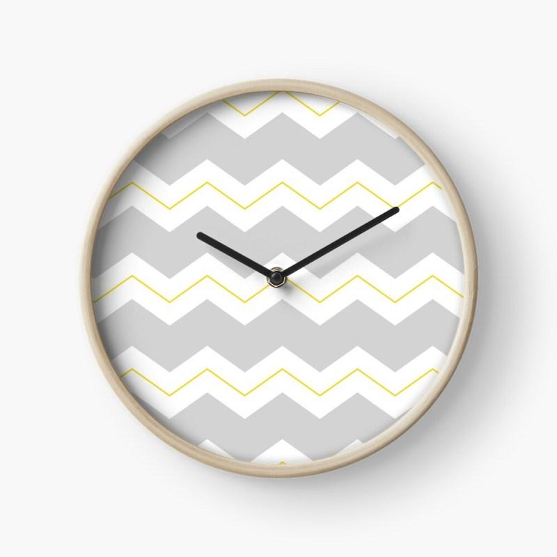 zigzag clock