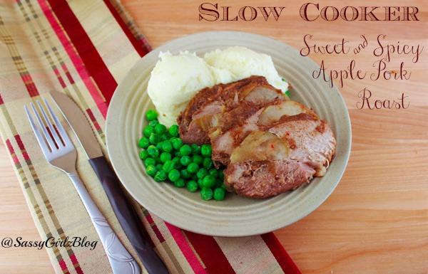 Slow Cooker Apple Pork Roast | Crunchy Frugalista Blog