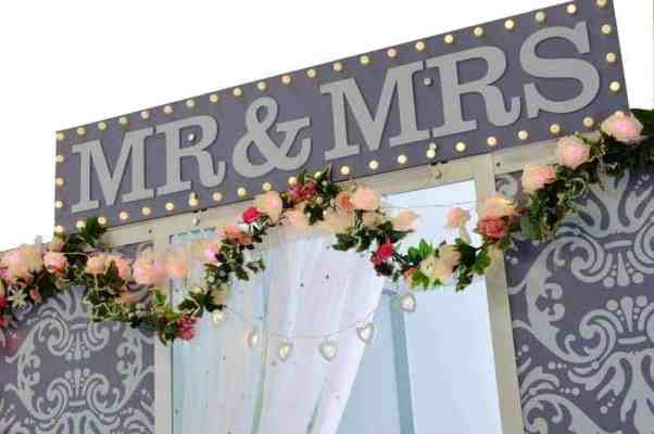 wedding photo booth hire northamptonshire