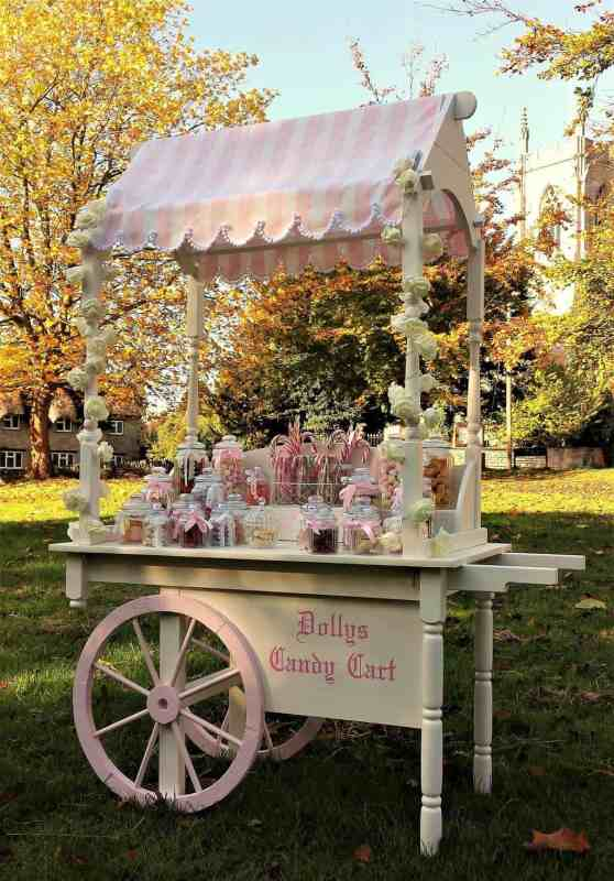candy cart and photo booth hire
