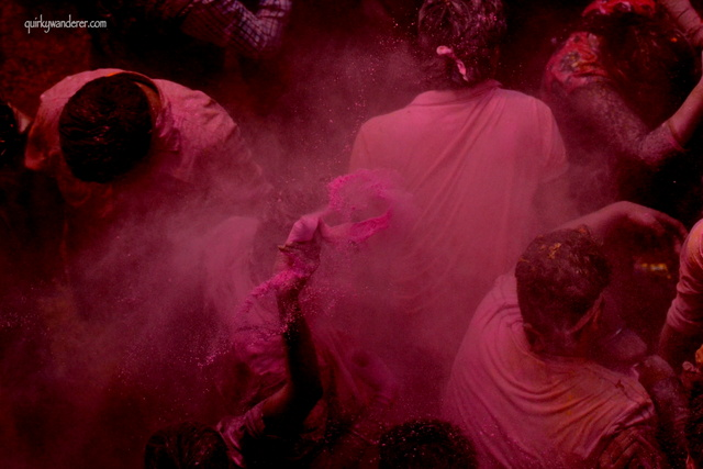 Holi in Barsana and Vrindavan: Tips