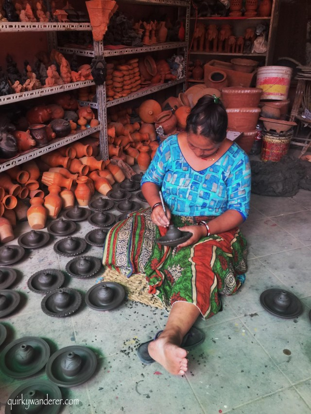 where to buy local pottery in Nepal