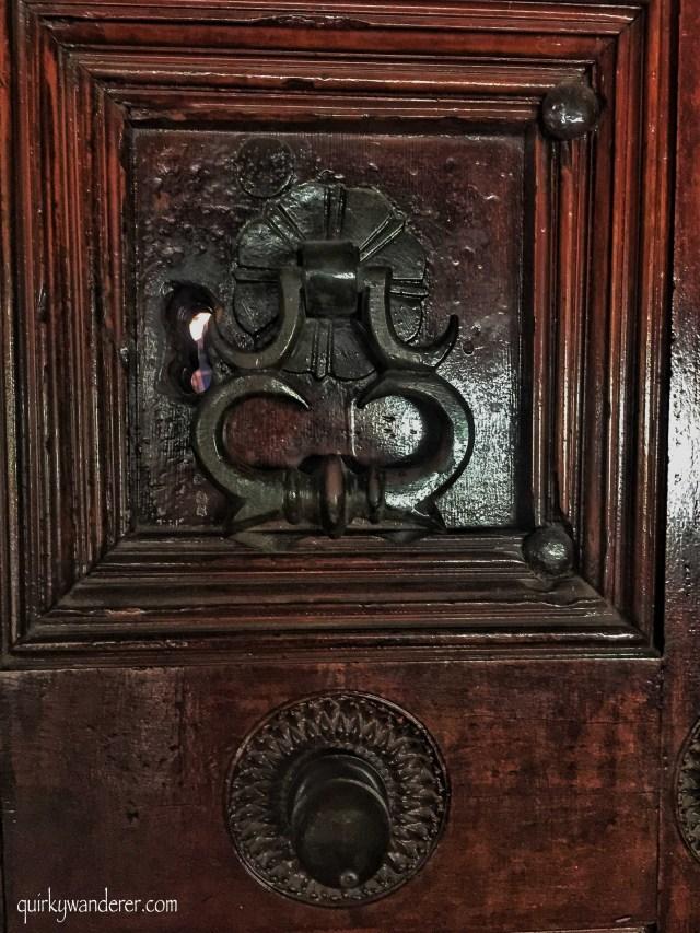 antique Indian doorways
