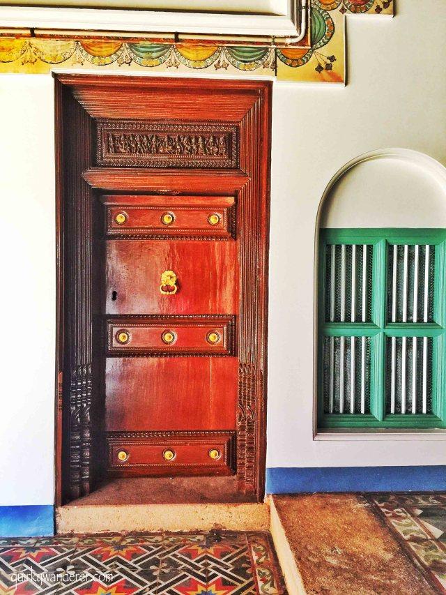 doors of Karaikudi