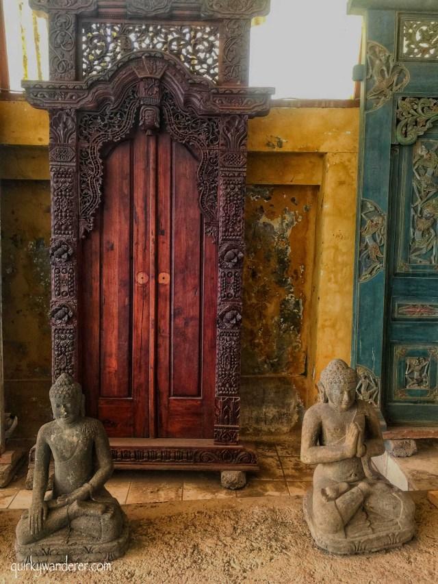 Door workshops in Bali bath Bulan