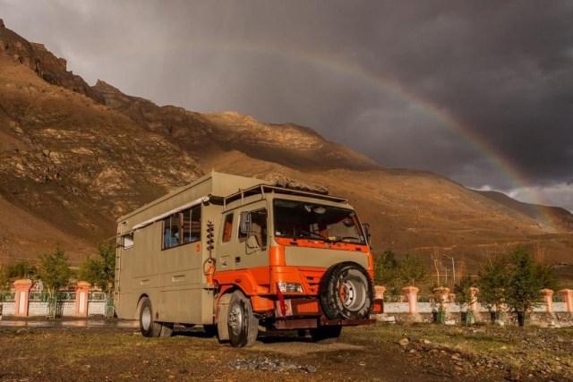 caravans in India