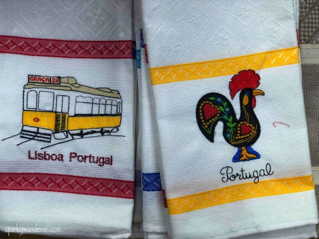 shopping in portugal : embroidery