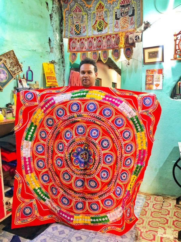 arts and crafts of India applique pipli