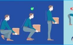 Como cuidar su columna al levantar objetos pesados