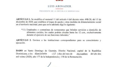 Photo of RD: falsifican firma de Luis Abinader