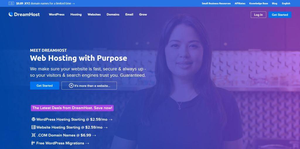 DreamPress is the best WordPress blog hosting on the market.