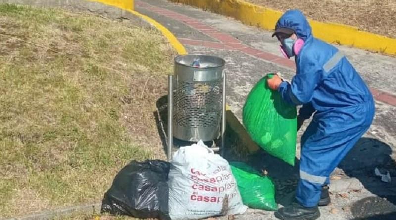 2210 toneladas de residuos recogidos en confinamiento