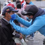 Cruz Roja de Pichincha se sumó al abordaje realizado por el Patronato durante el confinamiento