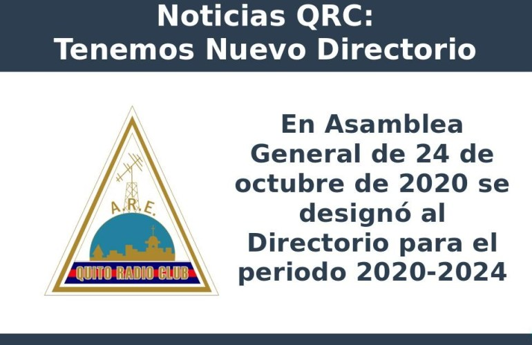 Nuevo Directorio del QRC