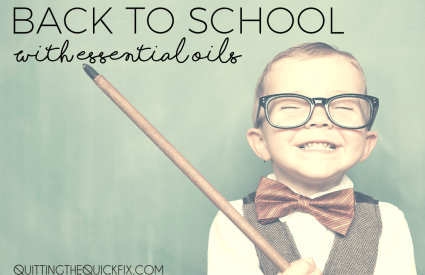 Back to School with Essential Oils [+ a video]