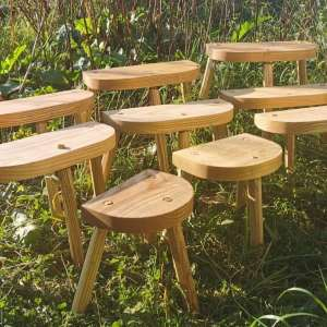 Selection of Vikig Lund stools