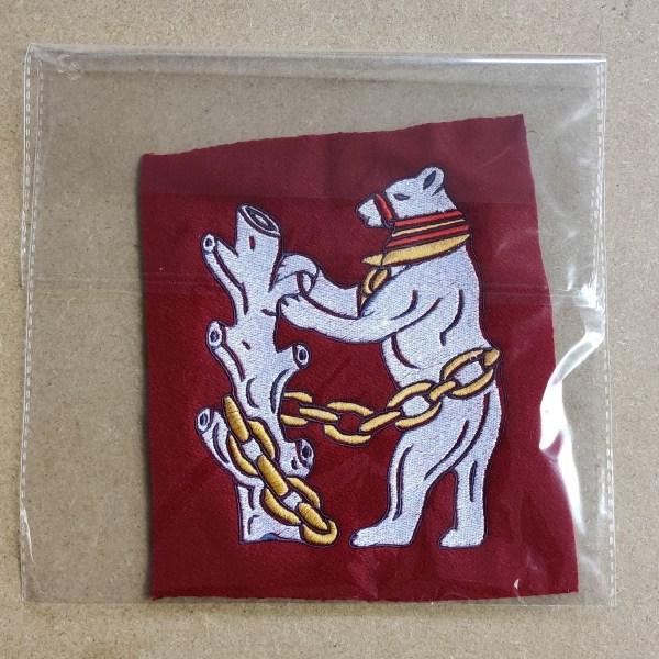Warwick bear badge