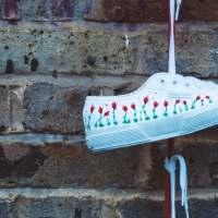Finde die 10 Fehler im Sneakerbild