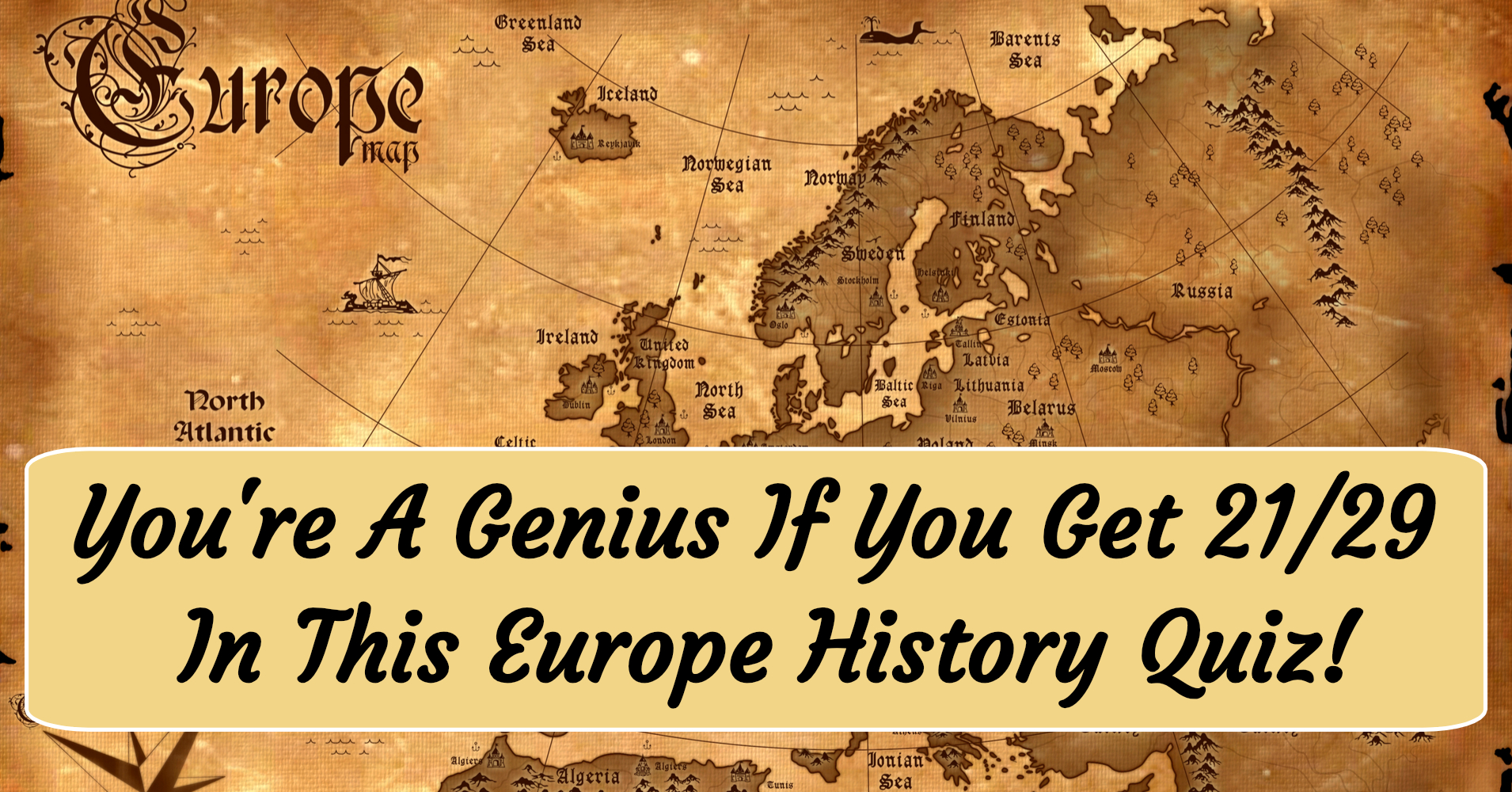 European History Quiz