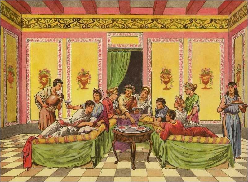 Quizz Table Avec Les Romains Quiz Specialites Plats