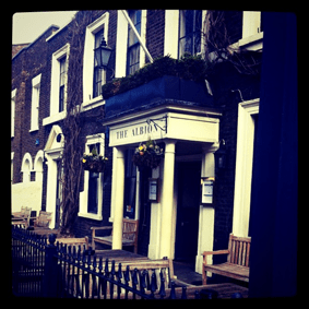 The Albion - Exterior