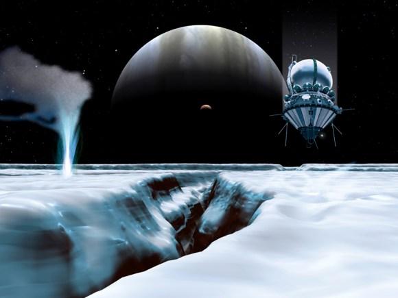 Misión espacial a las lunas de Júpiter - Quo