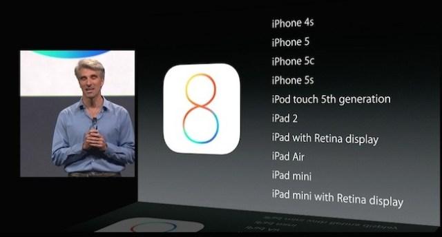 iOS 8 compatiblidad