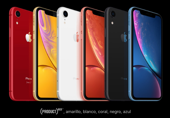 Colores Iphone Xr