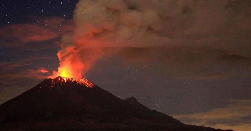 popocatepetl erupcion
