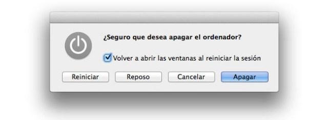 Reiniciar MAC