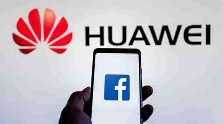 Huawei y FaceBook
